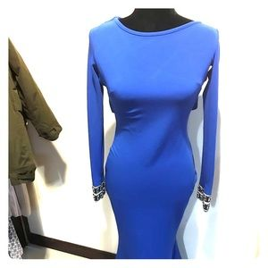 Blue pretty dress for event or night time